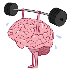 a strong brain keeps the body going