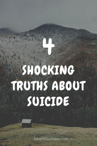 4 shocking truths about suicide